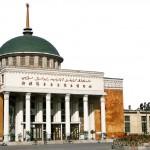 The exterior of the Xinjiang Uighur Autonomous Region Museum