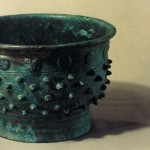 A copper gui called 'yufu gui,' a kind of food vessel used in the Western Zhou dynasty unearthed in Kazuo, Liaoning
