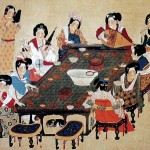 Court Music by Zhou Fang in Dynasty (copy in Song Dynasty)